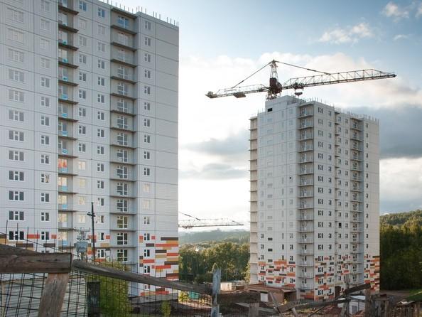 Фото Жилой комплекс ЛЕСНОЙ МАССИВ, дом 1, стр 6, Ход строительства 15 сентября 2018