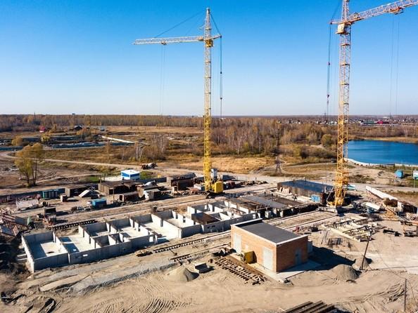 Ход строительства 8 октября 2018