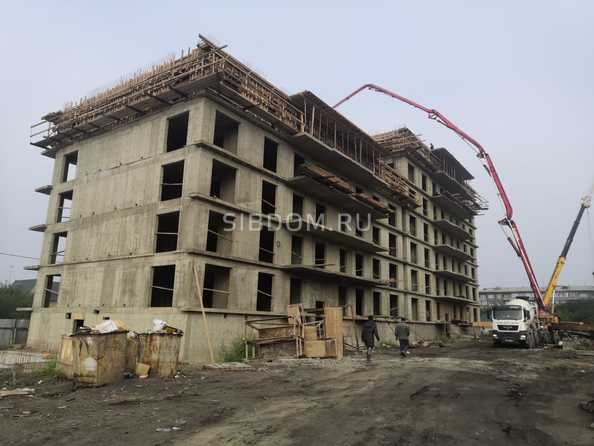 Ход строительства 12 августа 2020