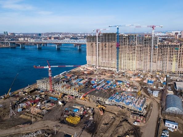 Ход строительства 6 апреля 2018