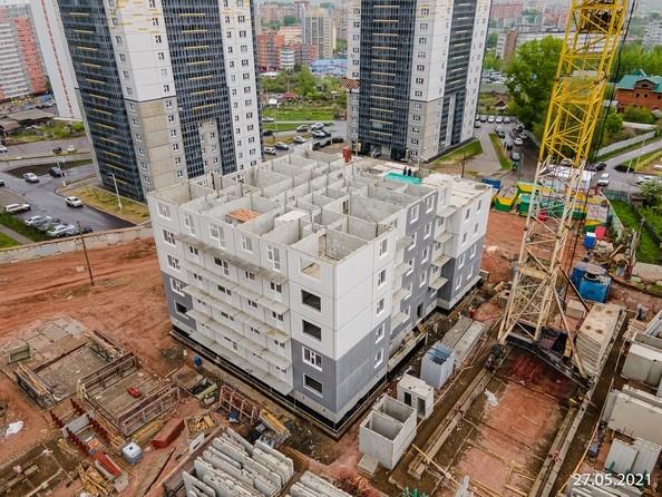 Ход строительства 27 мая 2021