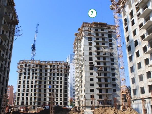 Фото АТМОСФЕРА, б/с 7, Ход строительства 9 сентября 2019
