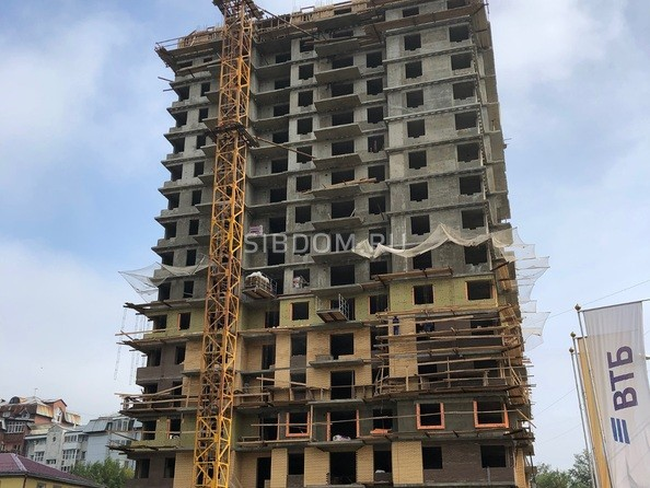 Ход строительства 1 сентября 2019