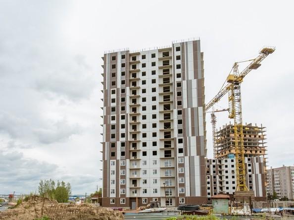 Ход строительства 17 июня 2020