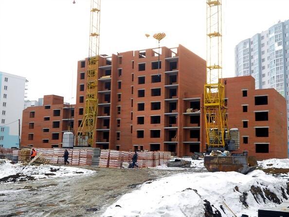Фото ТОМЬ, дом 15, корпус 1, Ход строительства март 2019