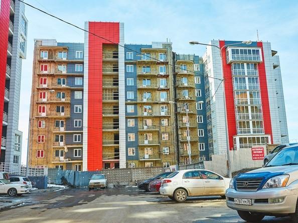 Фото Жилой комплекс ТОПКИНСКИЕ ГОРКИ, 2 оч, Ход строительства 22 апреля 2019