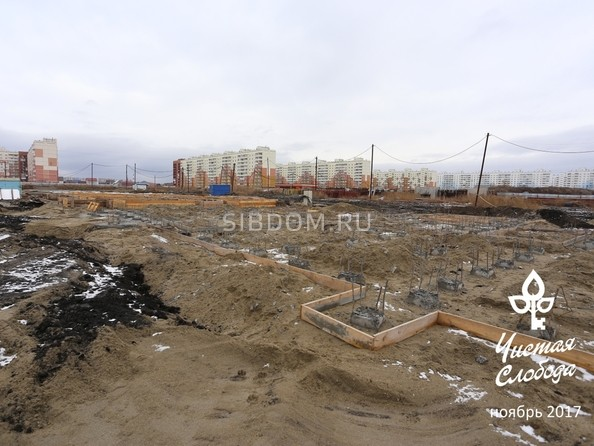 Фото Жилой комплекс ЧИСТАЯ СЛОБОДА, дом 17, Ход строительства ноябрь 2017