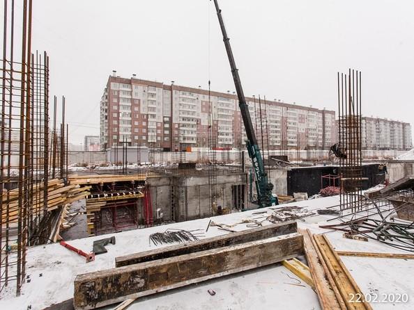 Ход строительства 22 февраля 2020