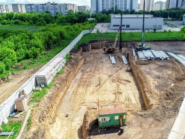 Фото Жилой комплекс ПИТЕР, дом 5, Ход строительства июль 2019