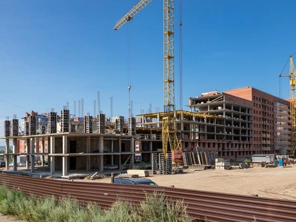 Фото Жилой комплекс Сосновоборск, 7 мкр, 1 этап, Ход строительства 5 августа 2019