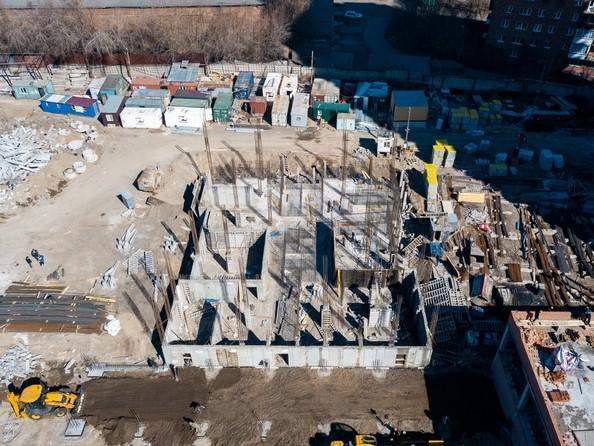 Фото Жилой комплекс НА ДУДИНСКОЙ, дом 2 , Ход строительства 25 апреля 2019