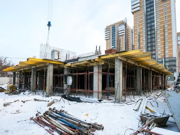 Ход строительства 22 декабря 2018. Блок-секция 2
