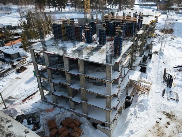 Фото Жилой комплекс ЭВОЛЮЦИЯ, 1 оч, дом 2, Ход строительства март 2019