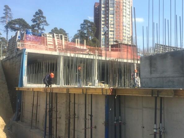 Фото Жилой комплекс БИРЮЗОВАЯ ЖЕМЧУЖИНА, Ход строительства апрель 2019