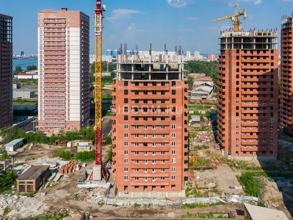 Ход строительства 23 июня 2019