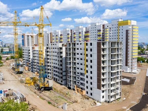 Фото Жилой комплекс Иннокентьевский, 3 мкр, дом 2, Ход строительства 11 июня 2019