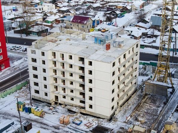Фото Жилой комплекс НОВОНИКОЛАЕВСКИЙ ж/к, 2 дом, 3 стр, Ход строительства 24 февраля 2018