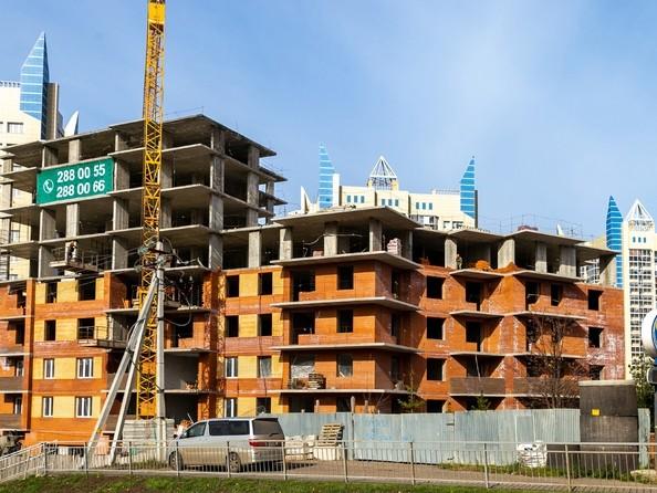 Фото Жилой комплекс БЕЗОБЛАЧНЫЙ, дом 2, Ход строительства 9 октября 2018