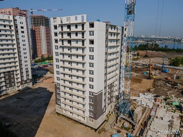 Ход строительства 26 августа 2021