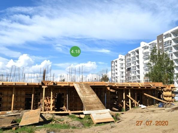 Ход строительства 27 июля 2020