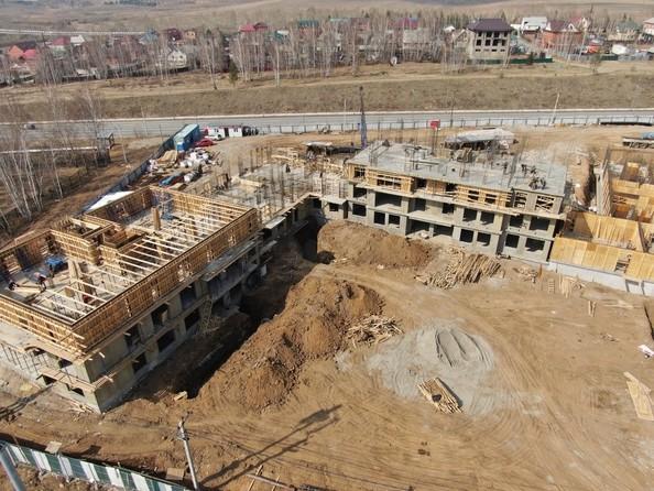 Ход строительства 5 мая 2020