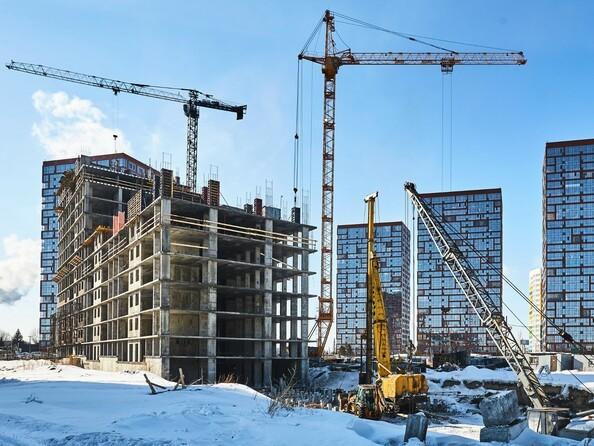 Фото Жилой комплекс ЯСНЫЙ БЕРЕГ, дом 10, б/с 1-3 , Ход строительства февраль 2019