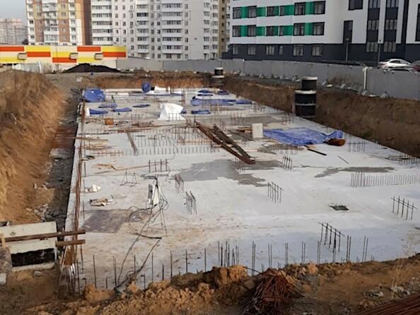 Ход строительства ноябрь 2019