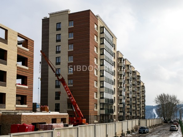 Фото Жилой комплекс Академгородок, дом 1, корп 1, Ход строительства 22 февраля 2019