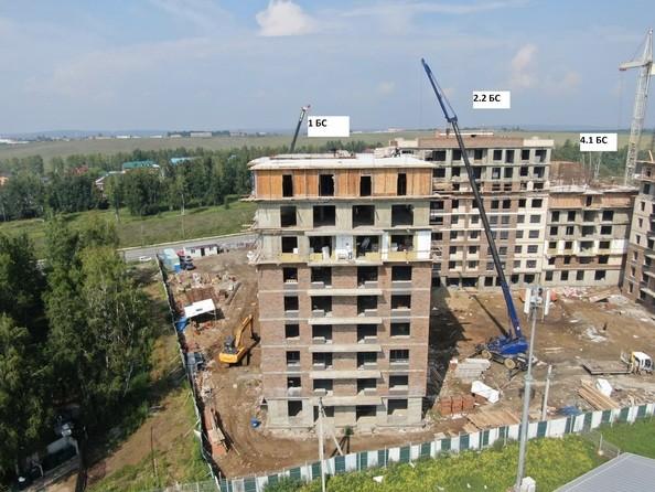 Ход строительства 4 августа 2020