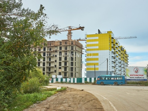 Ход строительства 19 сентября 2018