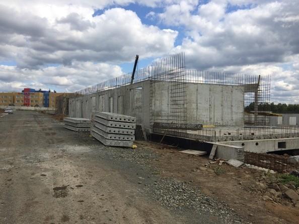 Фото Жилой комплекс СОЛНЕЧНЫЙ БУЛЬВАР, дом 21, корпус 2, Ход строительства сентябрь 2019