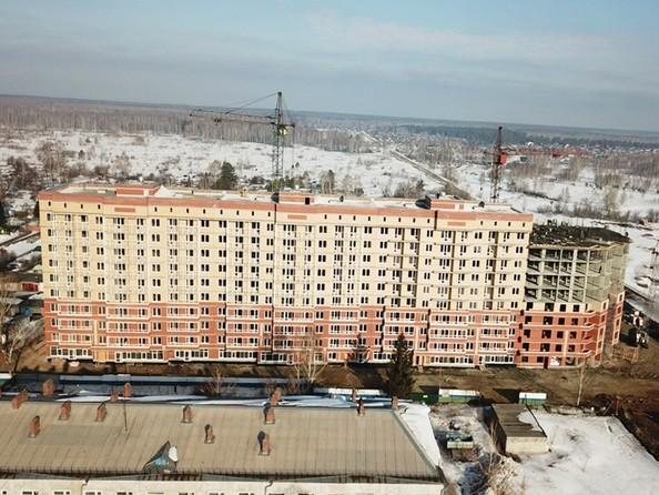 Фото Жилой комплекс КРЫЛЬЯ, б/с 4-5, Ход строительства 23 марта 2019
