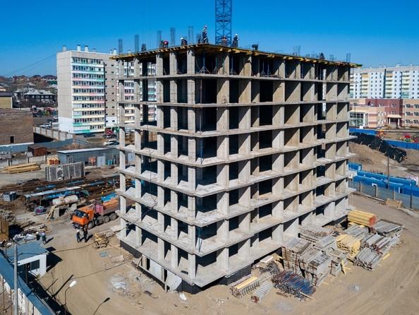 Ход строительства 25 апреля 2019