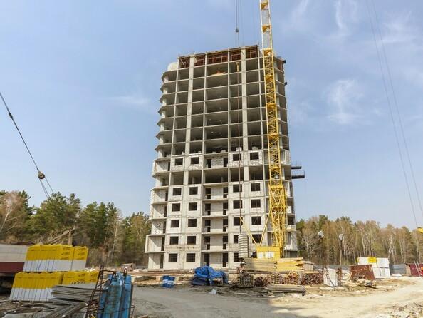 Фото Жилой комплекс МОХОВАЯ ПОЛЯНА, дом 7, Ход строительства май 2019