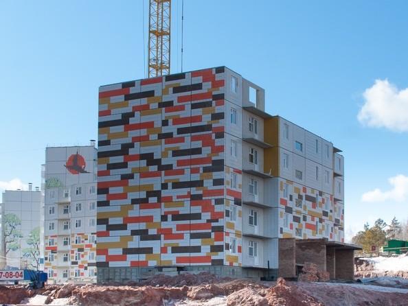 Ход строительства 18 марта 2020