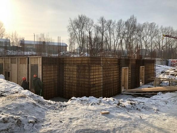 Ход строительства январь 2019