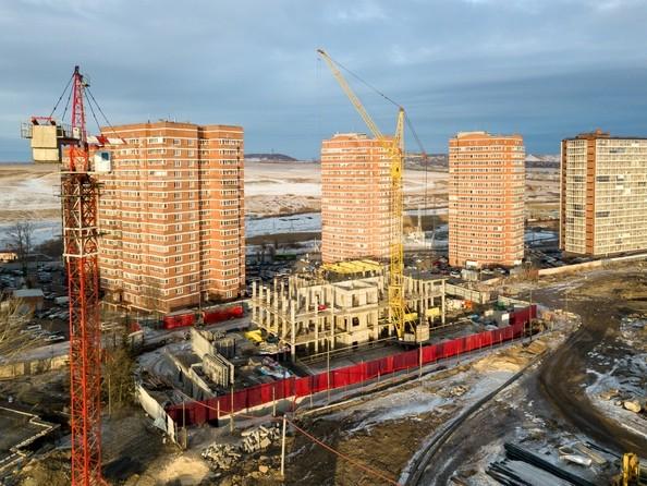 Фото Жилой комплекс ВЕРШИНА, Ход строительства 25 февраля 2019