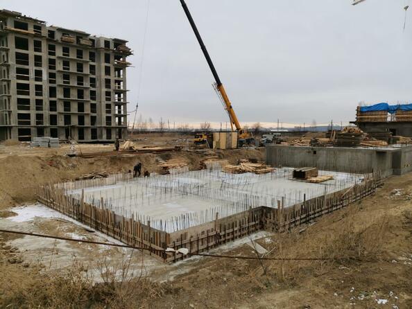 Блок-секция 5. Ход строительства 5 октября 2020