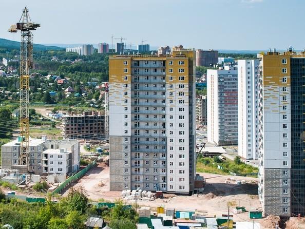 Фото Жилой комплекс КУРЧАТОВА, дом 8, стр 2, Ход строительства 16 августа 2019