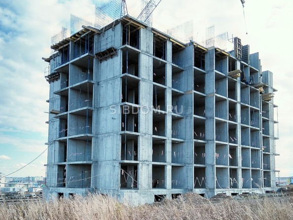 Фото СОЛНЕЧНЫЙ БУЛЬВАР, дом 18, корпус 3, Ход строительства ноябрь 2018
