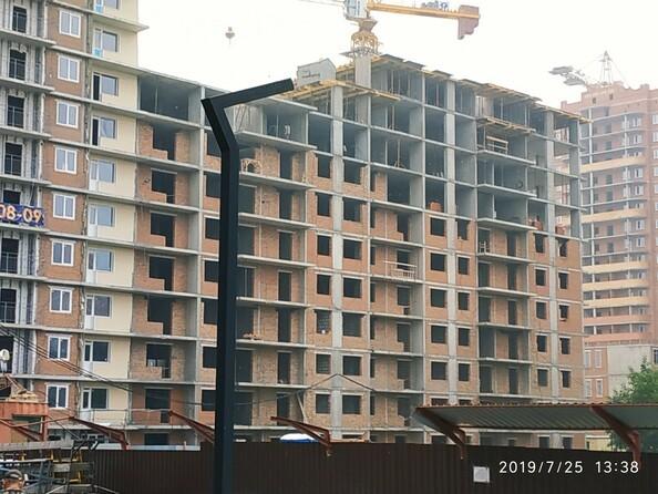 Фото Жилой комплекс ПОКРОВСКИЙ, б/с 1, 2, Ход строительства август 2019