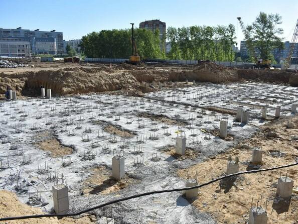 Фото Жилой комплекс РОДНИКИ, дом 2, Ход строительства июнь 2018