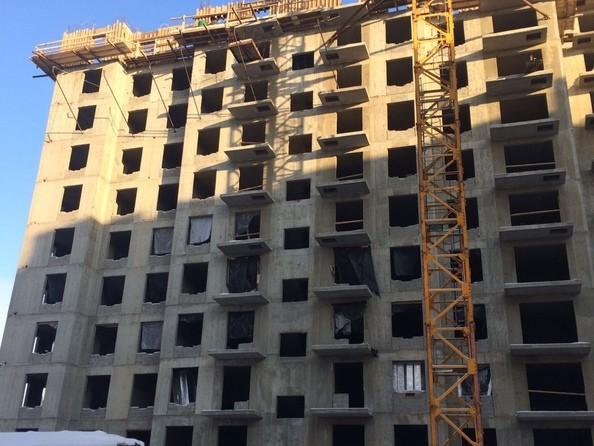 Ход строительства 11 января 2021