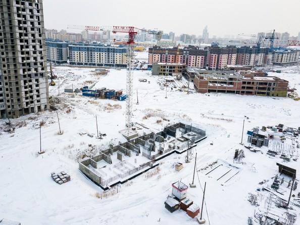 Фото Жилой комплекс ПРЕОБРАЖЕНСКИЙ, дом 13, Ход строительства 24 декабря 2018