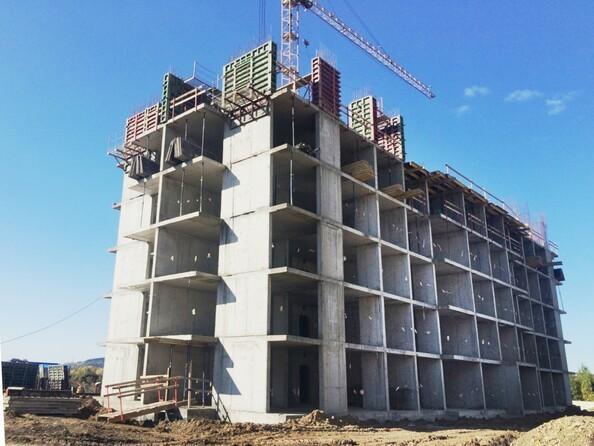 Фото Жилой комплекс СИБИРСКИЕ ПРОСТОРЫ, дом 1, корпус 5, Ход строительства сентябрь 2018