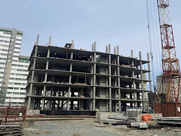 Ход строительства 1 мая 2021