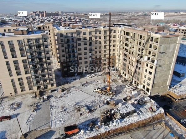 Ход строительства 8 декабря 2020