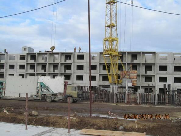 Фото Жилой комплекс РОДНИКИ, дом 603, Ход строительства апрель 2019