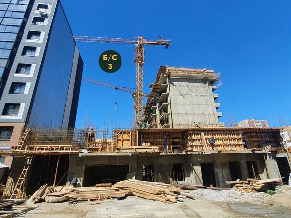 Ход строительства 3 июня 2021