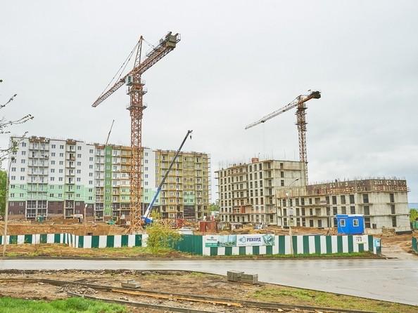 Фото Жилой комплекс РЕКОРД, 2 этап, Ход строительства 30 мая 2018
